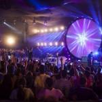 Gravação do novo DVD da Banda Discopraise atrai milhares de pessoas