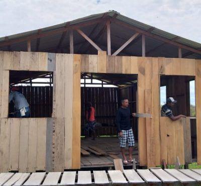 SNT inicia construção de uma nova igreja na Comunidade Indígena Ilha Verde/AM