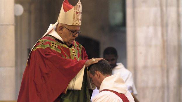 Philip Mulryne e o arcebispo Di Noia