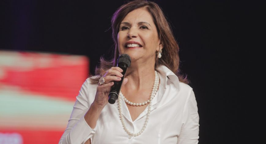 Primeira Ministração da Bispa Lúcia Rodovalho na Celebração Profética 2019