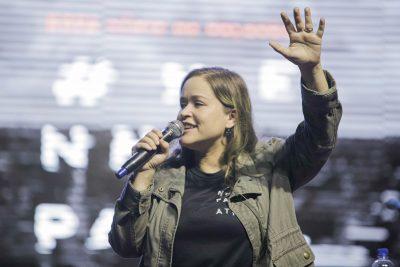 Arena Jovem – Pastora Abigail Pontes destaca as características de Davi para nunca retroceder