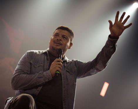 Arena Jovem Sede: Pastor Diogo Kort ministra sobre o território dos resultados
