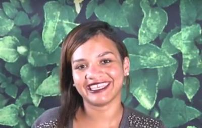 Giselli Oliveira se libertou das drogas ao conhecer o Arena Jovem