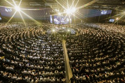 Arena Conference 20 agita Campus Arena com shows, Talk Show e palestras