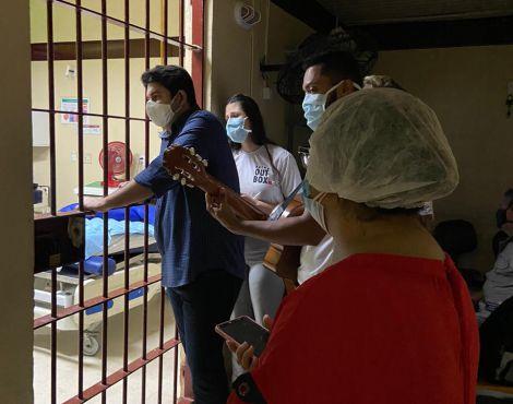 Voluntários da SNT João Pessoa visitam Hospital de Trauma da Paraíba