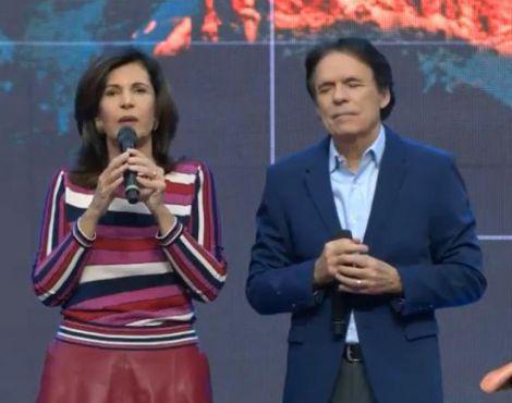 Bispos Robson e Lúcia Rodovalho declaram mentes e corações renovados no domingo