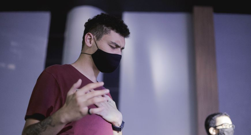 No culto de terça Bispo Rodovalho ministrou sobre proteção