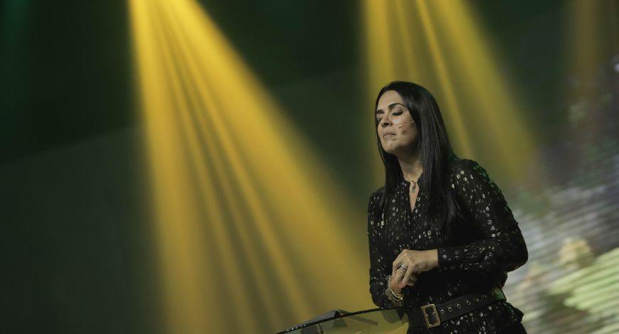 Bispa Priscila Rodovalho Cunha pregou na terça sobre milagre