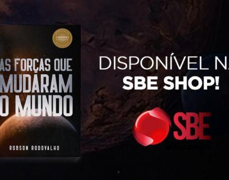 Chegou na SBE Shop meu mais novo livro: As Forças que Mudaram o Mundo