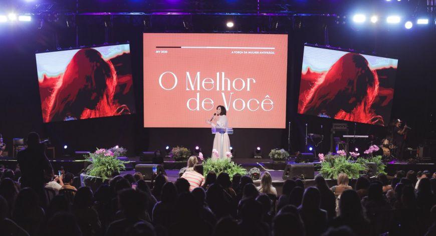 Mulheres Vencedoras é marcado pela presença de Deus!