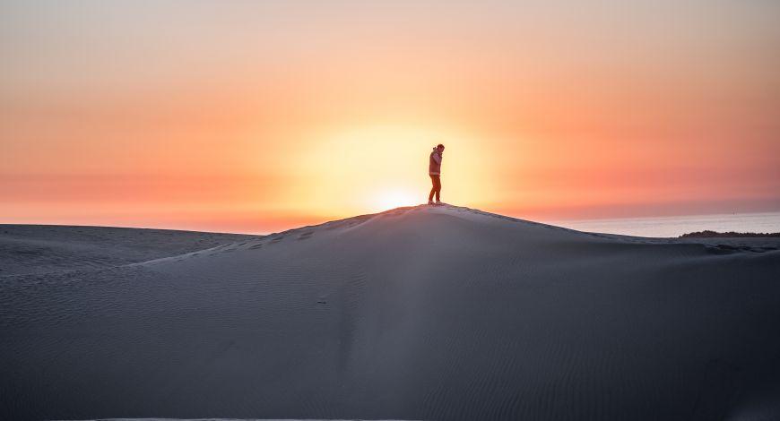 Não pereça no deserto!