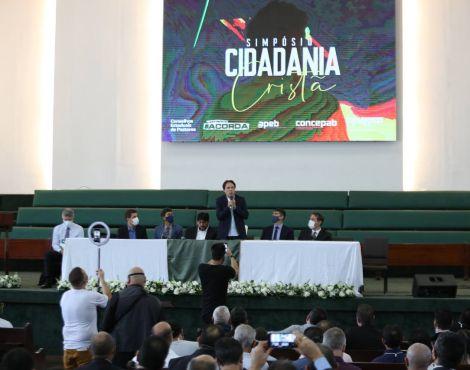 Bispo Rodovalho discute políticas públicas no I Simpósio Cidadania Cristã